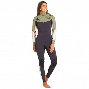 Billabong Women's Salty Dayz 3/2 Chest Zip Wetsuit - Spring 2019