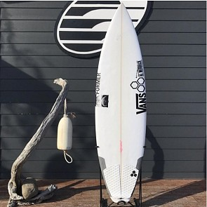 Channel Islands Black & White 6'0 x 19 1/8 x 2 7/16 Used Surfboard - Top