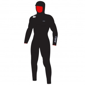 Buell RB2 Beast 5/4 Hooded Chest Zip Wetsuit