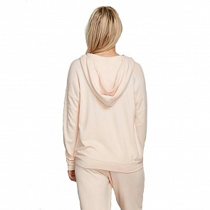 Volcom Women's Lil Zip Hoody - Cloud Pink