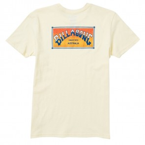 Billabong Youth Arch Box Tee - Lemon