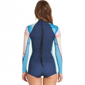 9829a3d295 ... Billabong Women s Spring Fever 2mm Long Sleeve Spring Wetsuit - Mirage