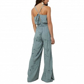 O'Neill Women's Barrett Jumpsuit - Dusty Blue