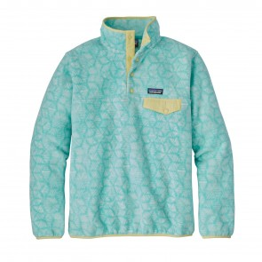 Patagonia Women's Lightweight Synchilla Snap-T Fleece Pullover - Batik Hex/Bend