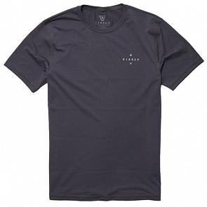 Vissla Beach Day Surf T-Shirt - Charcoal