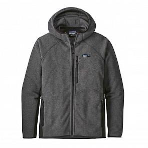 Patagonia Better Sweater Fleece Hoody - Forge Grey/Black