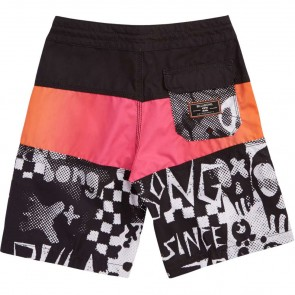 Billabong Youth Bad Billys Tribong Boardshorts - Black