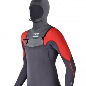 Billabong Youth Furnace Carbon Comp 5/4 Hooded Wetsuit