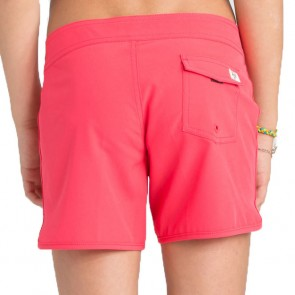 Billabong Youth Girls Sol Searcher Boardshorts - Red Hot
