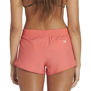 Billabong Women's Sol Searcher Volley Shorts - Horizon Red