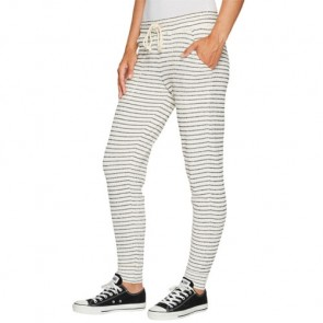 Billabong Women's Turn Away Jogger Pants - Black/White