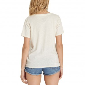 Billabong Women's Desert Sunset T-Shirt - White Cap