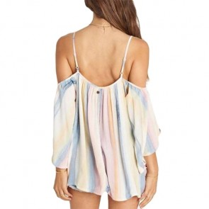 Billabong Women's Forever Cold Shoulder Top - Multi