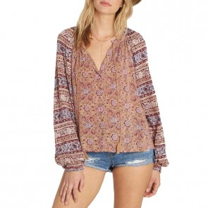 Billabong Women's Easy Breaze Long Sleeve Top - Sand Dune