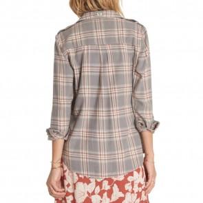Billabong Women's Venture Out Flannel - Moody Blue