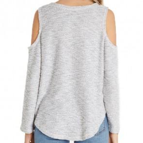 Billabong Women's Surprise Me Fleece Pullover - Cool Wip