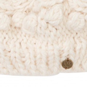 Billabong Women's Bomb Dot Pom Beanie - Ivory