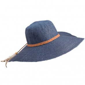Billabong Women's Saltwater Sunset Straw Hat - Blue Cruz