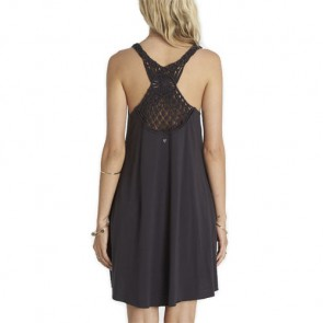 Billabong Women's Great Views Dress - Off Black