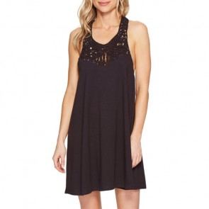 Billabong Women's Easy Show Dress - Off Black