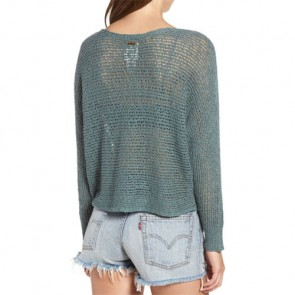 Billabong Women's Dance With Me Sweater - Sugar Pine