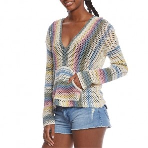 Billabong Women's Tide Pool Hooded Sweater - Multi