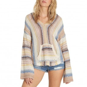 Billabong Women's Baja Beach Hooded Sweater - Multi
