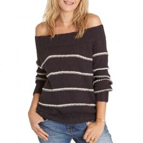 Billabong Women's Snuggle Down Sweater - Off Black