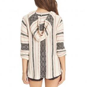 Billabong Women's Sand Dune Hooded Sweater - White Cap