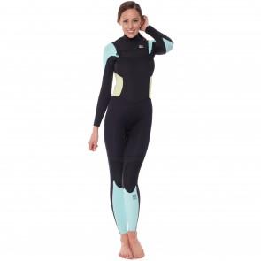 Billabong Women's Synergy 4/3 Chest Zip Wetsuit - 2015