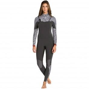 Billabong Women's Salty Dayz 3/2 Chest Zip Wetsuit - Geo Diamond