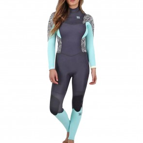 Billabong Women's Synergy 4/3 Chest Zip Wetsuit - 2016