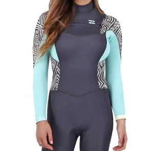 Billabong Women's Synergy 3/2 Chest Zip Wetsuit - 2016