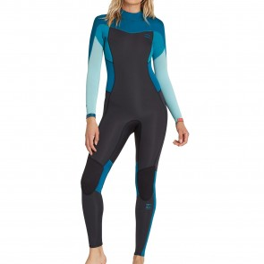 Billabong Women's Synergy 4/3 Back Zip Wetsuit