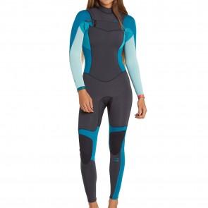 Billabong Women's Synergy 3/2 Chest Zip Wetsuit - 2017