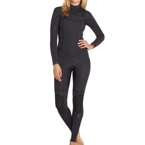 Billabong Women's Synergy 4/3 Chest Zip Wetsuit - 2017