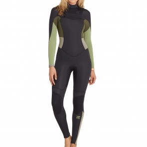 Billabong Women's Synergy 3/2 Chest Zip Wetsuit - 2017