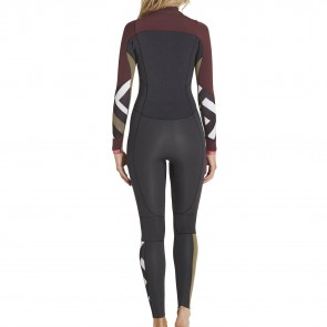 Billabong Women's Salty Dayz 4/3 Chest Zip Wetsuit - 2017