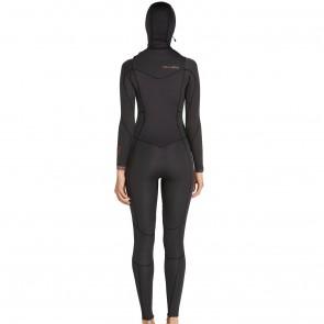 Billabong Women's Synergy 5/4 Hooded Chest Zip Wetsuit - 2017