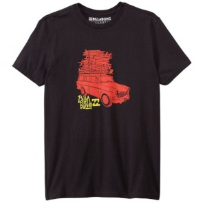 Billabong Youth Surf Check T-Shirt - Black