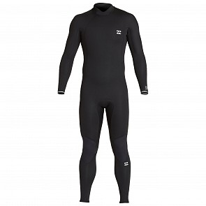 Billabong Furnace Absolute 4/3 Back Zip Wetsuit - Black