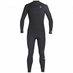 Billabong Furnace Absolute 3/2 Chest Zip Wetsuit - Black