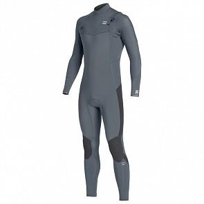 Billabong Furnace Absolute 3/2 Chest Zip Wetsuit - Grey