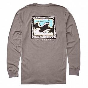 Billabong High Tide Long Sleeve T-Shirt - Pewter