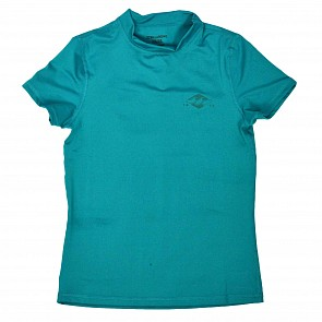 Billabong Women's Core Loose Fit Short Sleeve Rash Guard - Pacific