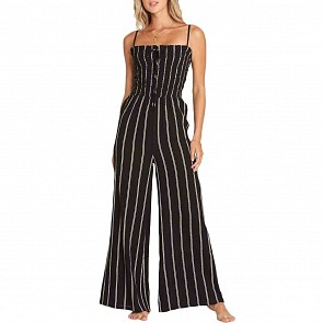 Billabong Women's Forever Fields Jumpsuit - Black