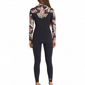Billabong Women's Furnace Carbon 4/3 Chest Zip Wetsuit