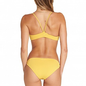 Billabong Women's High On Sun Trilet Two-Piece Swimsuit - Sunflower