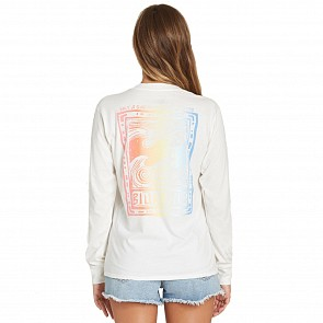 Billabong Women's Know The Feeling Long Sleeve Top - Cool Wip
