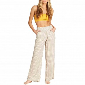 Billabong Women's New Waves Pants - Warm Sand
